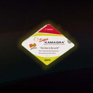 SUPER KAMAGRA 100 mg TABLETE 2 u 1